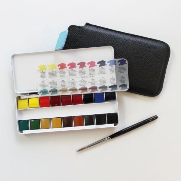 Cass Art Professional Watercolour Quarter Pan