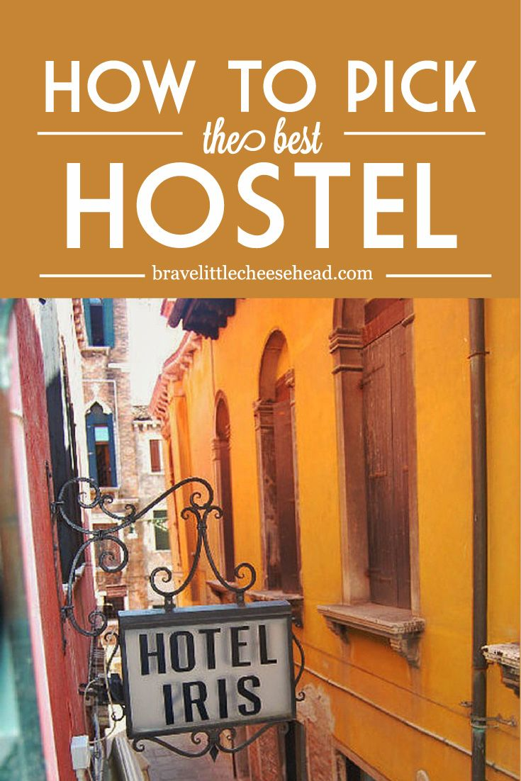 When we first started staying in hostels, we weren't quite sure what