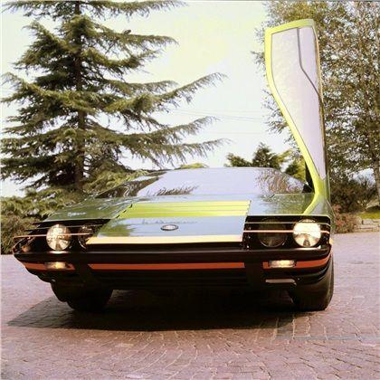 Alfa Romeo Carabo by Bertone (1968)