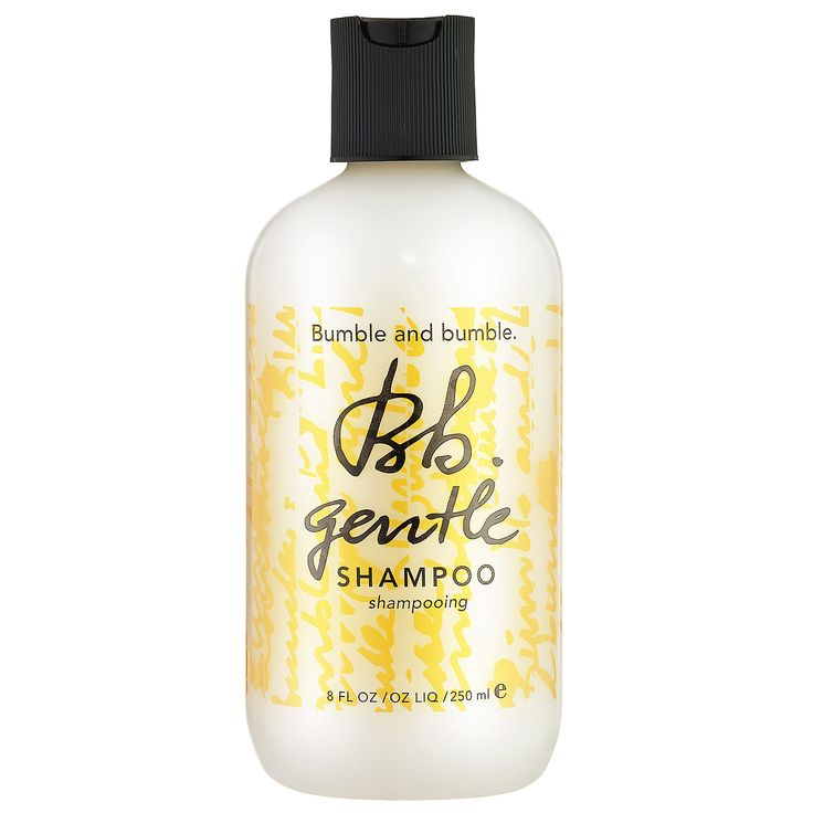 """4/21 """"Bumble and bumble Gentle Shampoo is a winner in my book! As someone who doesn't like to use a lot of hair product, I really love this shampoo. It is very moisurizing and leaves a fresh-feeling shine. I pair it with Bumble's Super Rich Conditioner to guarantee a good hair day."""" -Beatrice E., Associate Manager, Strategic Projects #Sephora #DailyObsessions"""