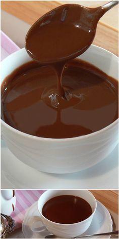 Cioccolata calda densa fatta in casa più buona delle bustine e LIGHT