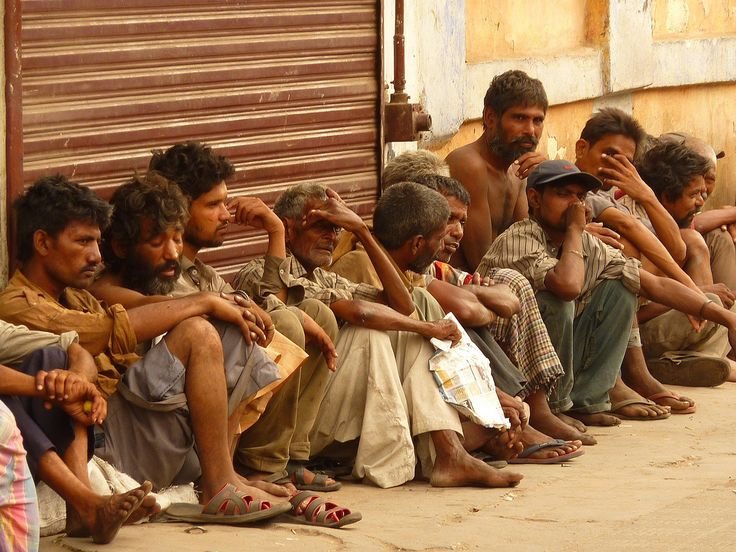 """Over 50 percent of Pakistan's population is living below the poverty line, a World Bank report titled """"World Development Indicators (WDI) 2015."""
