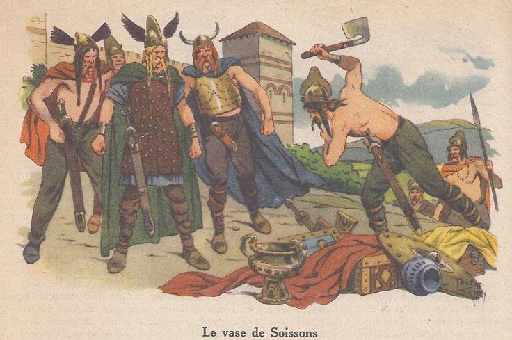 Clovis - Le vase de Soissons