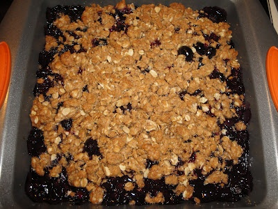 Blueberry crisp and Blueberries on Pinterest