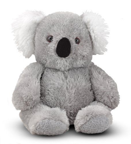 Melissa & Doug Sidney Koala by Melissa & Doug. $14.53. Top-quality plush and fill. Durable construction. Friendly face with distinctive velvety nose. Surface washable. Fuzzy koala stuffed animal with a super-cuddly body. From the Manufacturer                The top stuffed toy from Down Under, silky Sidney has fuzzy ears that are made for nuzzling, an adorably sweet face with a felt nose, and a soft, floppy body that's so very easy to hug.                         ...
