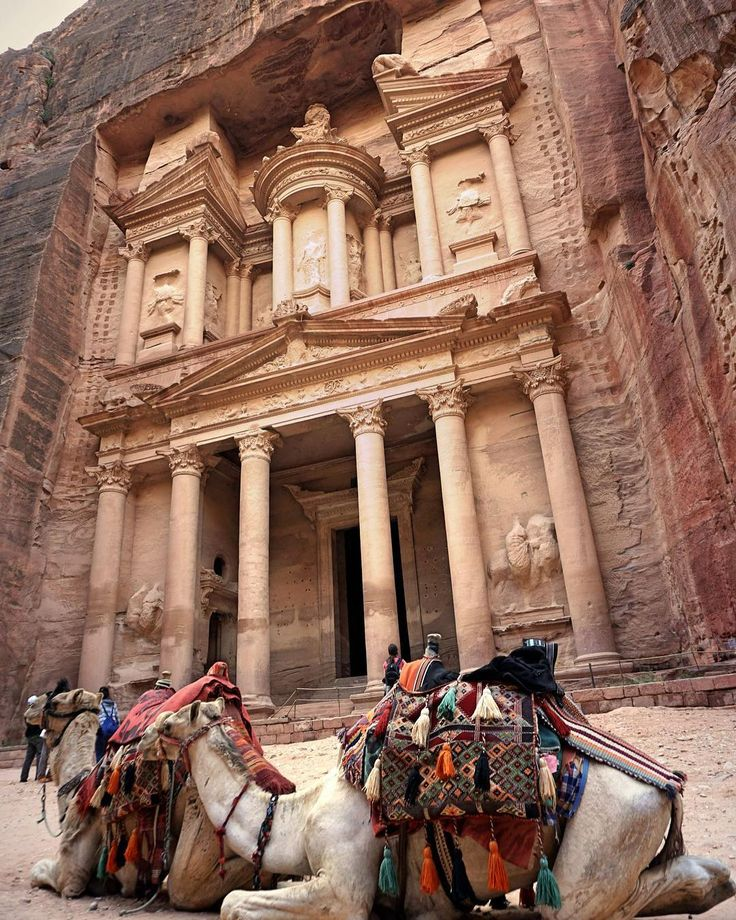 I've seen pictures and heard stories about Petra, also known as the Rose-Red City, but nothing prepares you for what you'll see once you get there. There's no wonder why it is Jordan's most treasured and most popular tourist attraction. ⠀