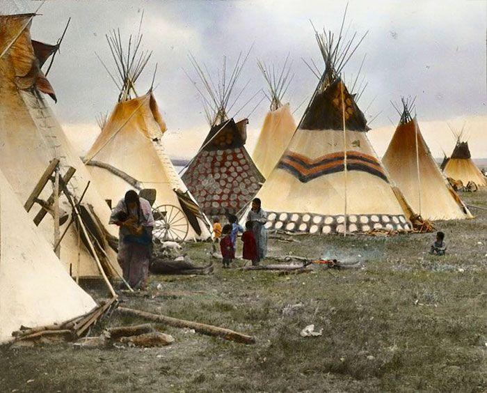 15 photos couleurs rares des Indiens damérique du 19eme et 20eme siecle  2Tout2Rien