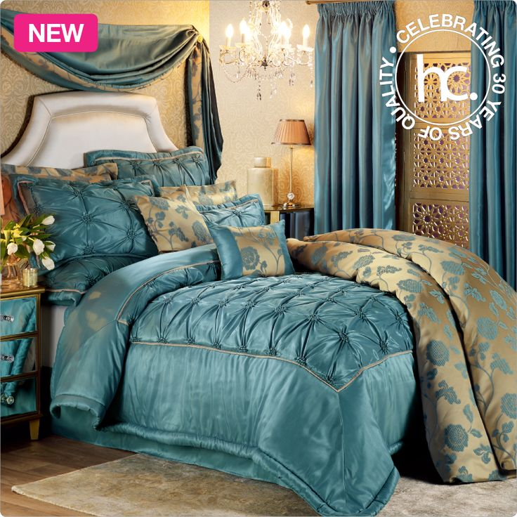 Justine comforter set new from R1399 or only R137 p/m! Shop now >> https://www.pinterest.com/homechoice/whats-new-this-may/