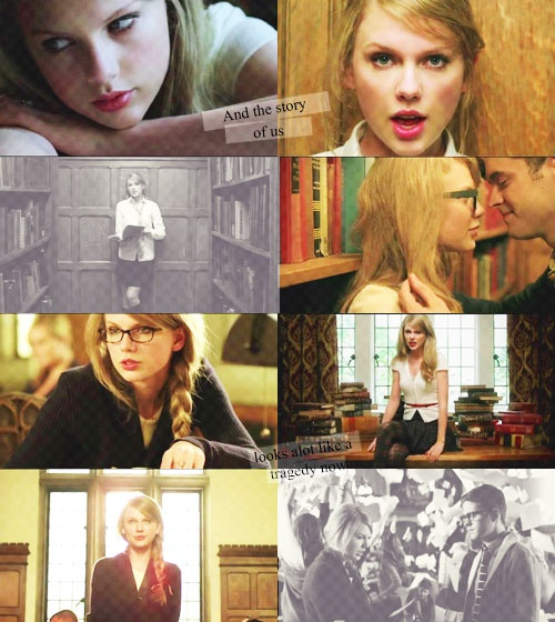 4. Your favorite Taylor Swift music video: Probably The Story of Us, but I love Mine too