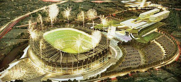Listo el proyecto de remodelación para el Estadio Azteca de Pedro Ramírez Vázquez - Noticias de Arquitectura - Buscador de Arquitectura