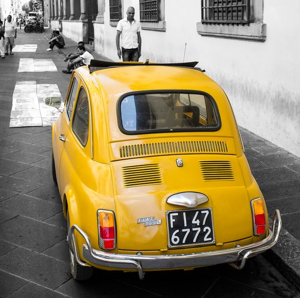 Stunning 1972 Fiat 500 Cinquecento For Sale In Mount: 530 Best Fiat500 Yellow Images On Pinterest