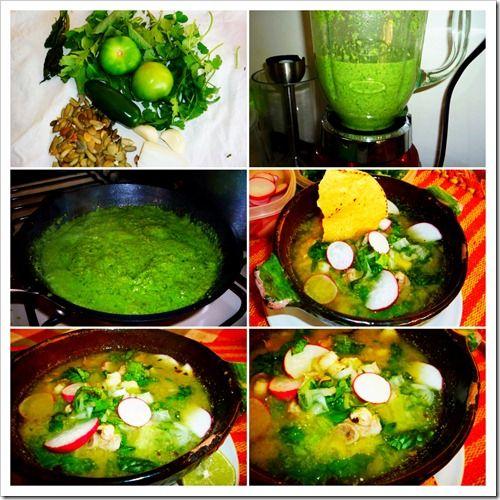 Green Pozole soup!
