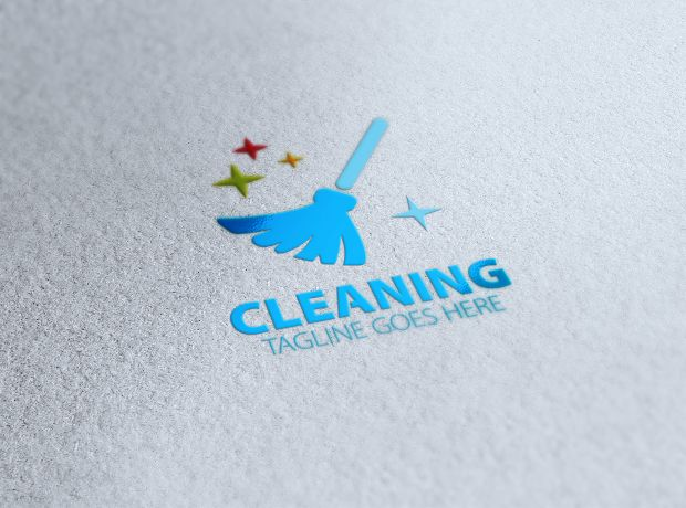 Cleaning Logo Image By My Name On Spokler Service Clean Cleaning