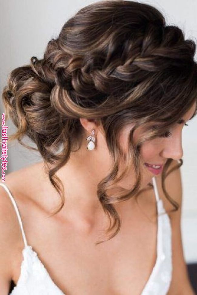 Quinceanera Hairstyles Updo Wedding Hairstyles In 2020 Short Wedding Hair Long Hair Styles Wedding Hair Inspiration
