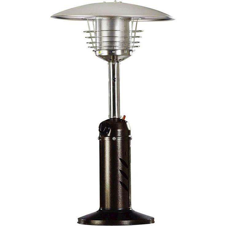 Hanover - Mini Umbrella Tabletop Patio Heater - Hammered Bronze