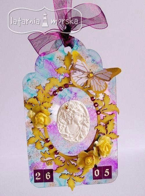 Zawieszka akrylowa - upominek z okazji Dnia Matki