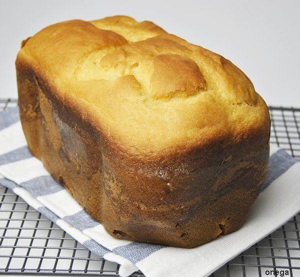 Pan de queso quark en panificadora