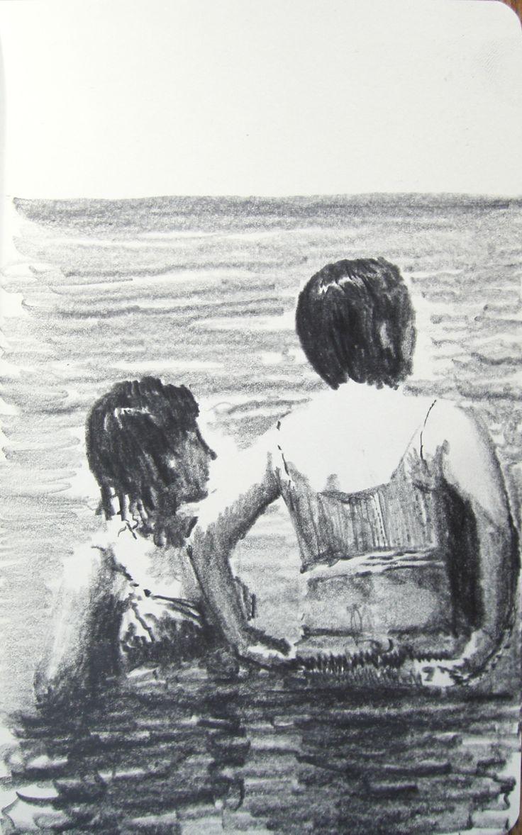 Moleskine #k04 graphite pencil drawing