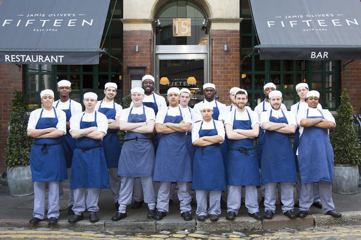 Fifteen's Apprentice Programme, a high-profile restaurant that donates all of its profits to our charity
