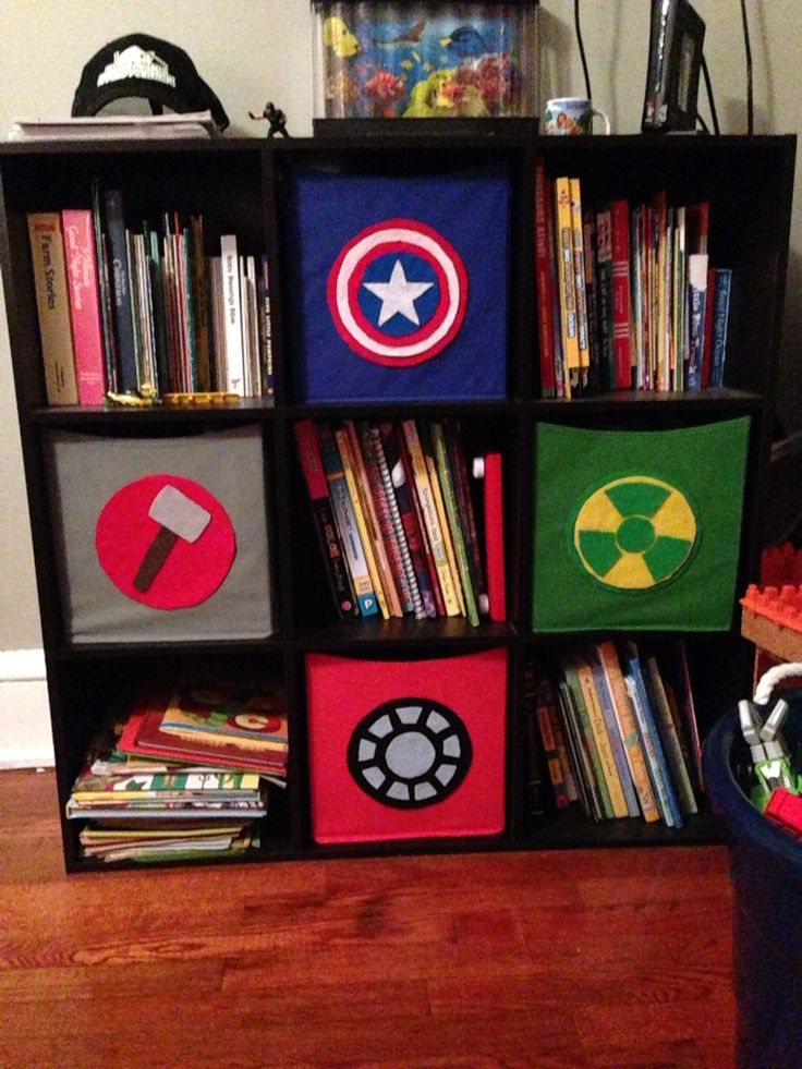 Avengers bedroom