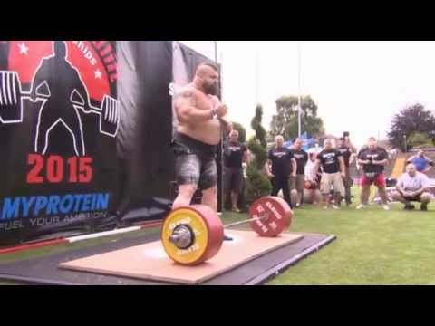 Eddie Hall New Deadlift World Record 463KG (better quality)