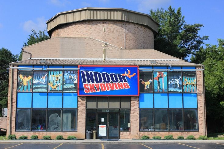 Indoor Skydiving in Pigeon Forge. ~ 1 of the funniest things I have ever done
