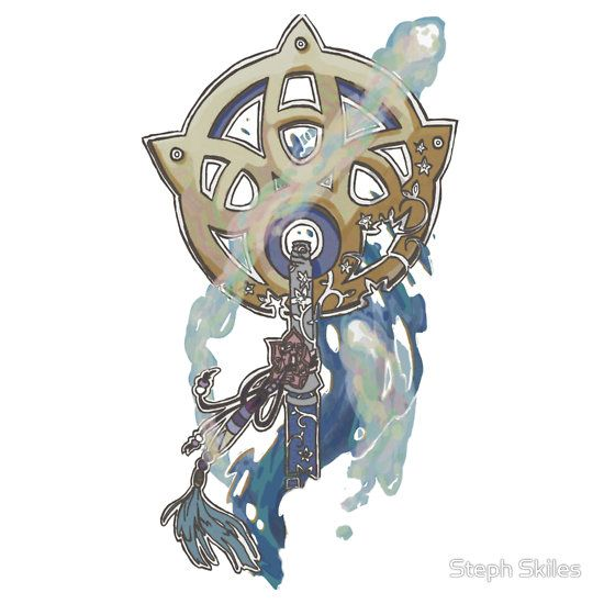 Saw this on Redbubble thought it was really cool. Final Fantasy X Yuna summoner staff