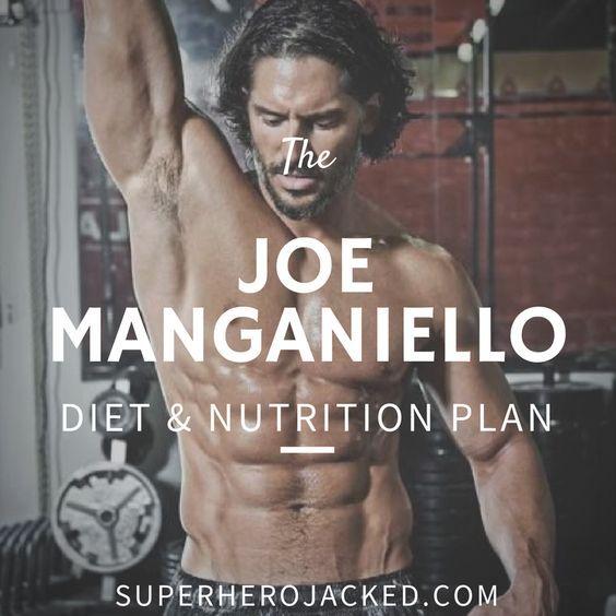 Joe Manganiello Diet and Nutrition