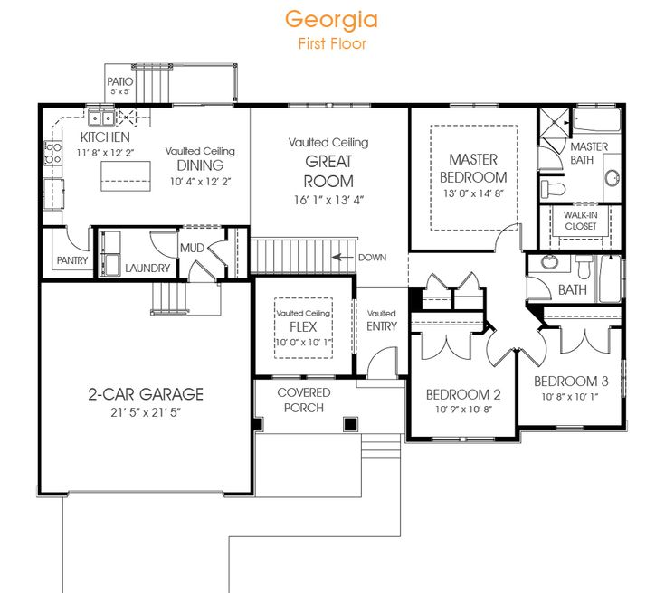 Best 20 Rambler House Plans Ideas On Pinterest Ranch Floor Plans 4 Bedroom House Plans And