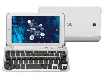 "#299,90#Tablet DL 2 em 1 X-Quad Note 8GB Tela 7"" Wi-Fi - Android 5.1 Quad-Core Câm. 2MP + Frontal 0.3MP"