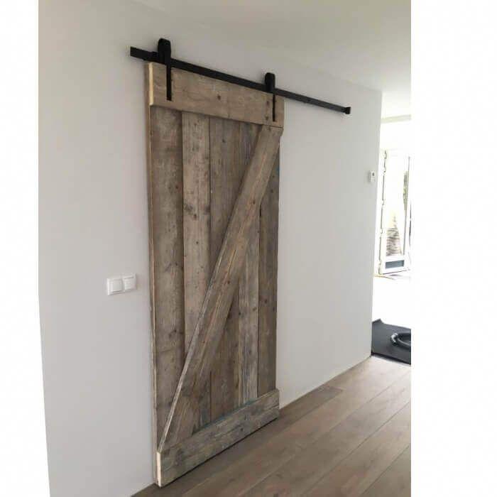 Schuifdeur van Steigerhout maken - Loftdeur