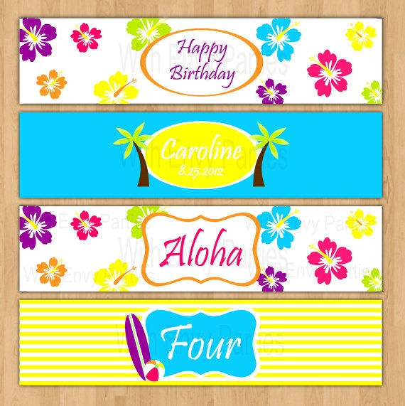 75 Best Images About Water Bottle Labels On Pinterest: Best 25+ Hawaii Theme Parties Ideas On Pinterest