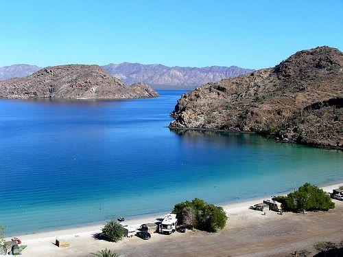 Playa Santispac, Baja