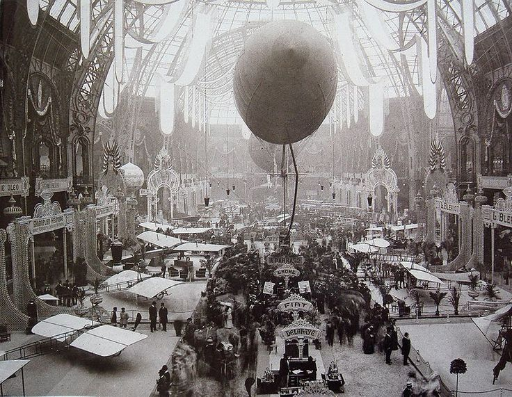 cybermonkey: Paris is Steampunk Capital.{Salon de Locomotion Aerienne, Grand Palais, 1909}