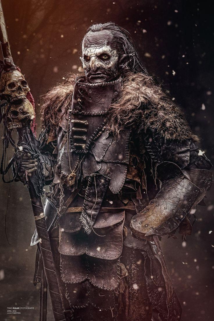 Female orc soldier named Varkash //  Model & Costume: www.facebook.com/faerynia Photographer: Timo Raab Fotografie