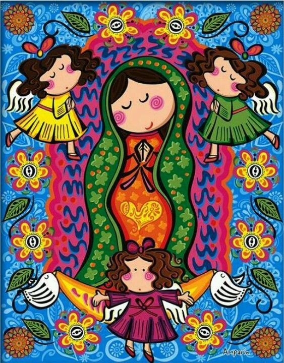 Virgen de Guadalupe siempre cuidandonos