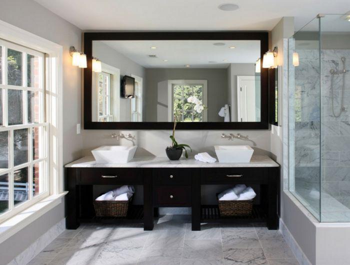 Design#5002044: 757 best images about badezimmer ideen ? fliesen, leuchten, möbel .... Badezimmer Schwarz Wei Modern