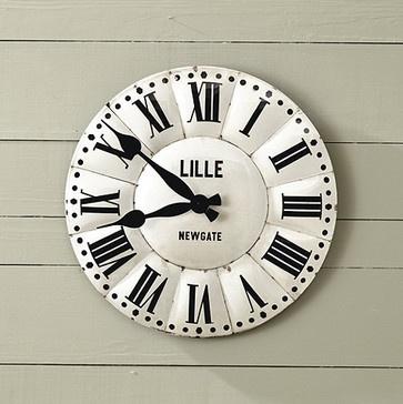 Lille Clock Contemporary Clocks Ballard Designs