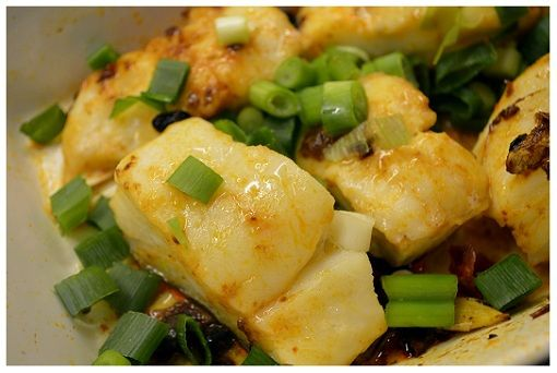 Chinese microwave cooked fish cod fish i need for Cod fish in chinese