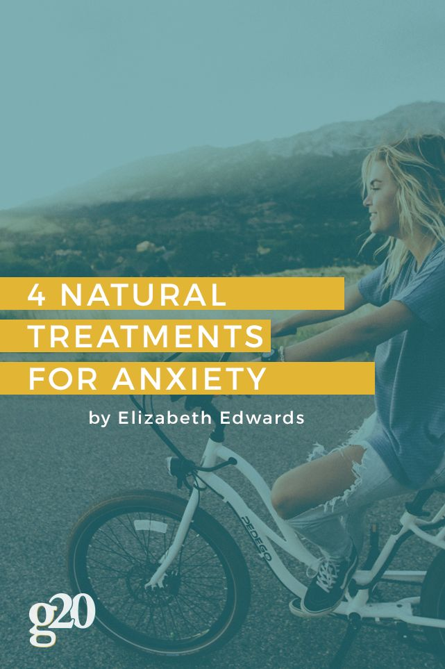 40 million Americans suffer from anxiety. Meds and traditional therapy often bring little relief to many. Here are 4 natural treatments for anxiety.