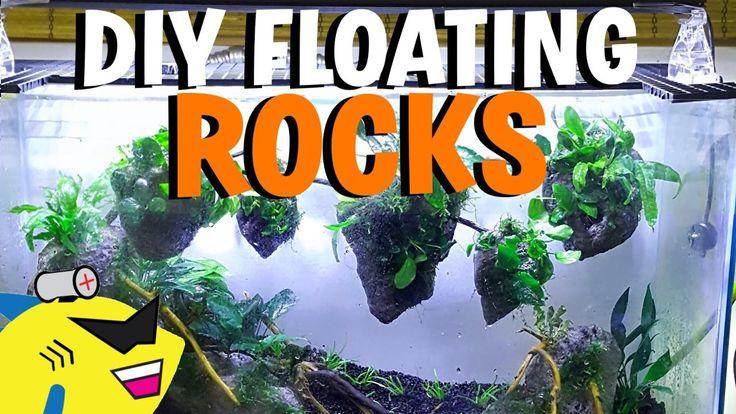 HOW TO: DIY AVATAR AQUARIUM FLOATING ROCKS!   Nature ...