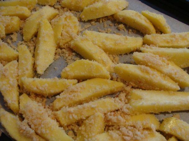 Pečené zemiaky so strúhankou - obrázok 1