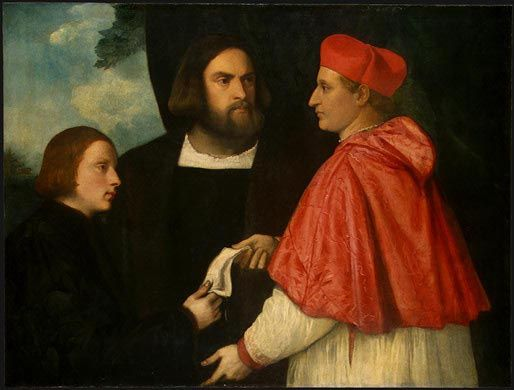 raphael and workshop titian Biography tiziano  titian established his own studio and workshop this is the studio in which titian would have  himself to the work of raphael and.