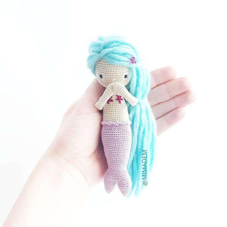 Os enviamos muchos besos.. gracias por vuestros ❤ y comentarios! We send kisses... thank you for your ❤ and kind words!! #mypattern #ganchillo #crochetaddict #crochê #uncinetto #virka #haken #häkeln #hekle #tigisi #örgüoyuncak #örgü #instacrochet #weamiguru #amigurumi #amigurumis #amigurumidoll #crochetdoll #diy #crafty #handmadewithlove #feitoaman #amigurumimermaid #mermaiddoll #あみぐるみ #амигуруми #вязание #ручнаяработа #игрушкикрючком #كروشيه