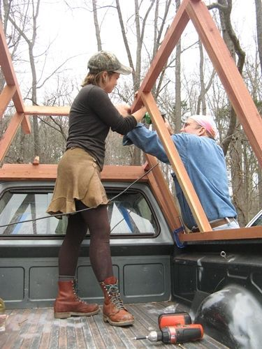 Building a Wooden Camper Shell build a little home-away-from-home to fit Amy's Volkswagen pick up. From scratch, using a sketch, advice from Jim Nitsch and some internet research! – March, 2015 « Trouts Latest Photos