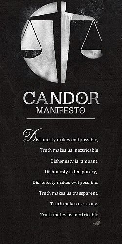 another faction i'm divergent in, in total i belong to three factions erudite, candor, and dauntless. was born abnegation.