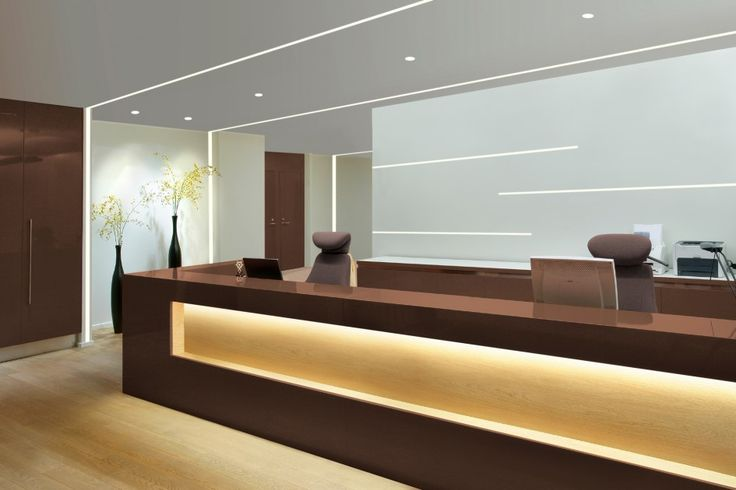 Office reception area design gallery book covers centron for Front office design interior