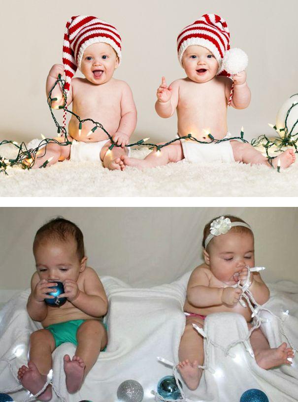 15 Divertidos fallos intentando imitar las sesiones de fotos de bebés en Pinterest