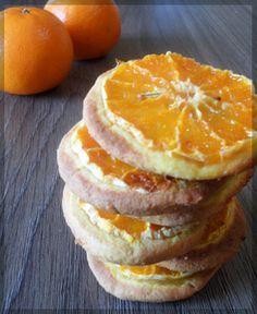 Фото к рецепту: Мандариновое постное печенье