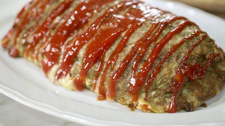 Wolfie's Thursday night turkey meatloaf. Pancetta adds a sublime layer of flavor and makes this meatloaf stand out from a sea of too-similar recipes. Makes excellent sandwiches the day after.  Recipe by Valerie Bertinelli.